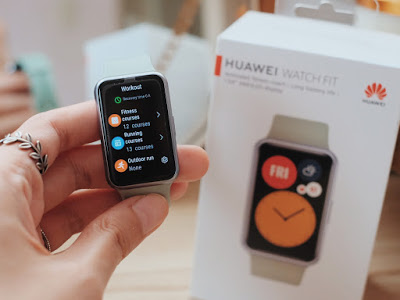 Huawei Watch Fit : Unboxing Review Philippine Price