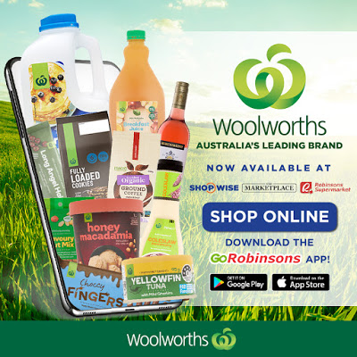 woolworths healthy products in robinsons supermarket