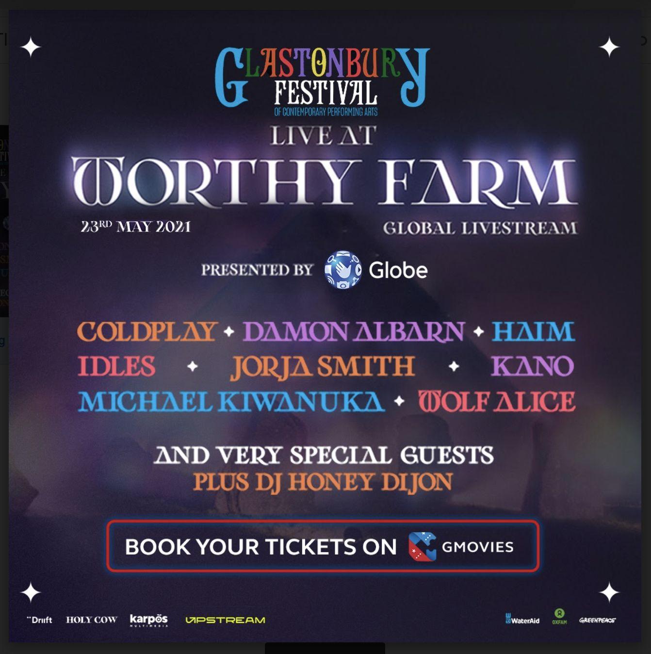 Watch Glastonbury Festival Online