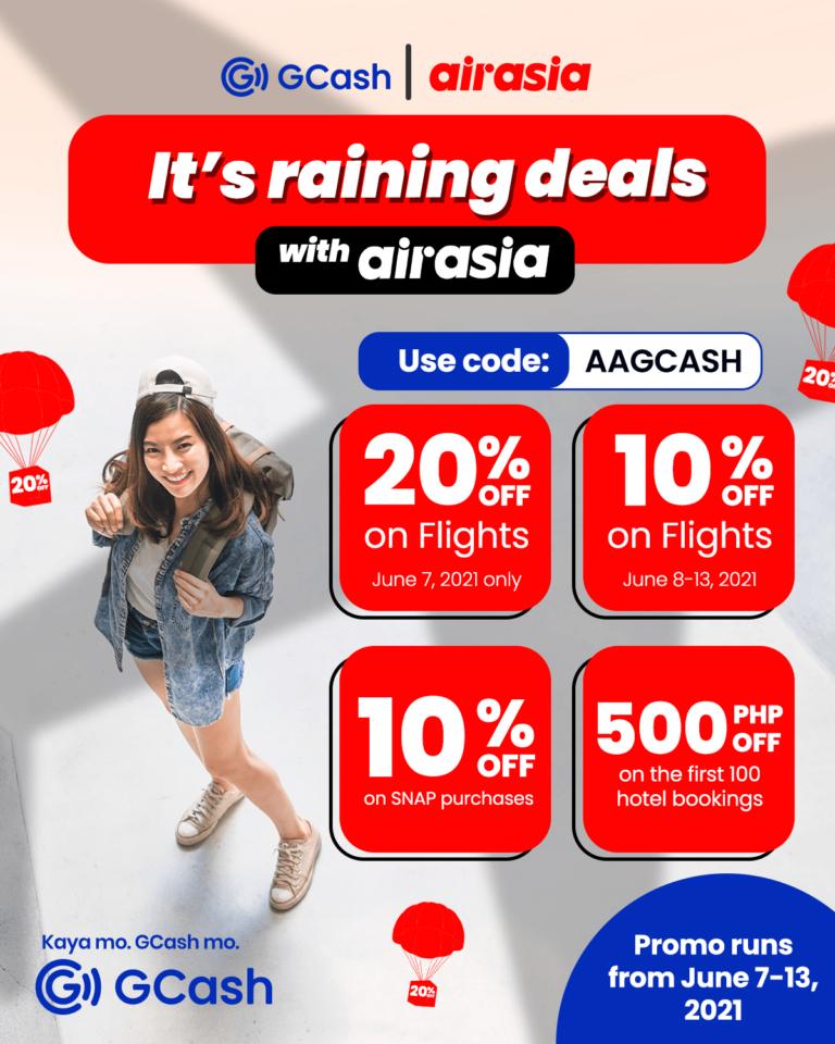 Pay for AirAsia Tickets via Gcash