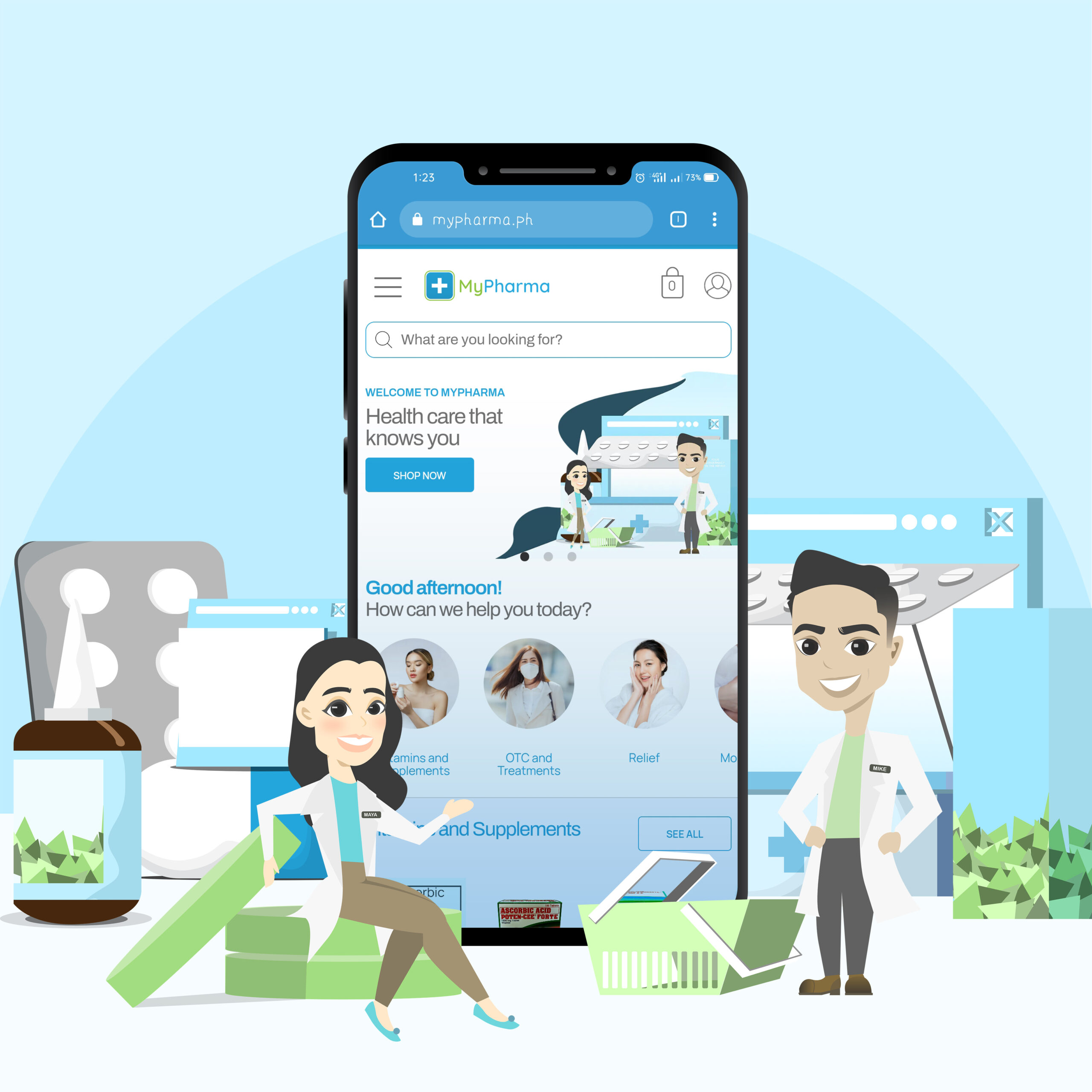 buy medicine online via mypharma